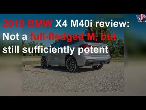2019 BMW X4 M40i review: Not a full-fledged M, but still sufficiently potent