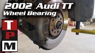 Audi TT Wheel Bearing Replacement (on vehicle)