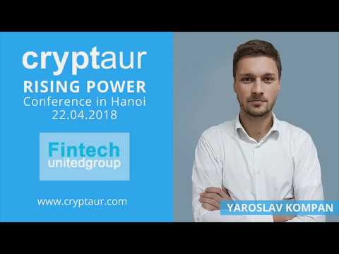 Conference in Hanoi by Fintech United Group