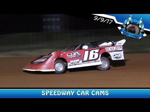 #16 Sam Seawright - Super Late Model - 9-9-17 Fort Payne Motor Speedway - In Car Camera