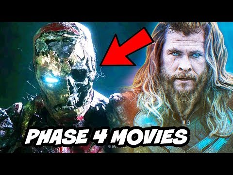 Marvel Comic Con all Phase 4 Movies Confirmed & Rumors Explained after Avengers Endgame
