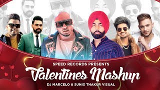 Title - valentine mashup (romantic of the year 2020) artists b praak, millind gaba, jassi gill, doorbeen ft. ragini, shirley setia, ammy virk, a...