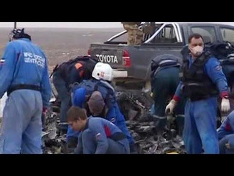 Третий спецборт с останками тел погибших при крушении А321 вылетел в Петербург