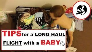 hong kong Long Haul flight with a BABY! - Mami & Papi