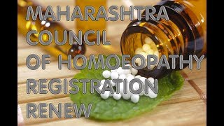 HOMOEOPATHY COUNCIL CERTIFICATE REGISTRATION RENEWAL [MCH]