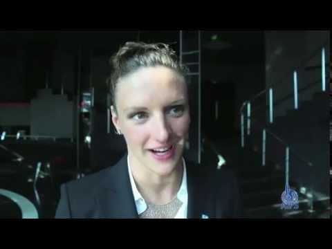 Sportaccord 2014: interview with hungarian swimmer Katinka Hosszu