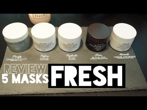 รีวิวมาสก์หน้าด้วย Fresh mask 5 สูตร Review : Supergibzz