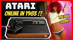 Atari 2600 and Intellivision Console Online In 1983!? -History of The Gameline & Playcable