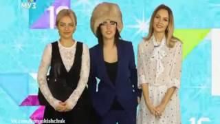 SEREBRO в программе МУЗ ТВ Чарт (27.12.2016)