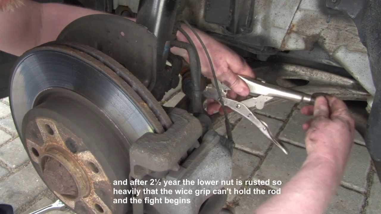 Bmw 3 Series E46 Front Sway Bar Link Replacement Diy