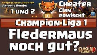 [548] CWL Liga Champ1 Fights Teil 1 | CHEATER CLAN erwischt | Clash of Clans Deutsch COC