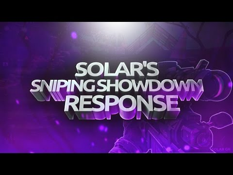 Solar - Sniping Showdown Teamtage #1
