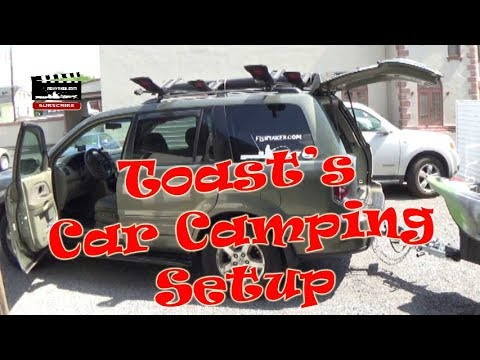 Toast's Kayak Fishing Car Camping Setup: Episode 507