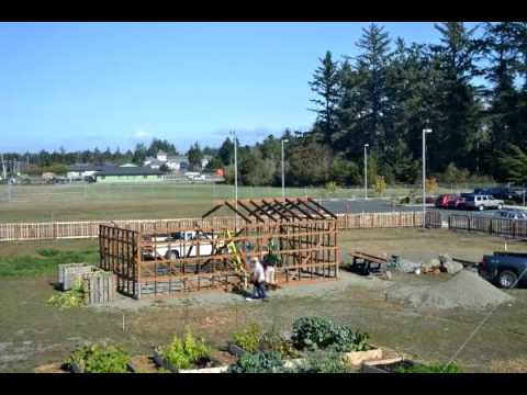 Del Norte Community Wellness Center & Garden Green House Construction