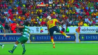 embeded bvideo Resumen Morelia Vs Santos J2 Apertura 2018