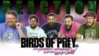 BIRDS OF PREY - Official Trailer 1 REACTION!!
