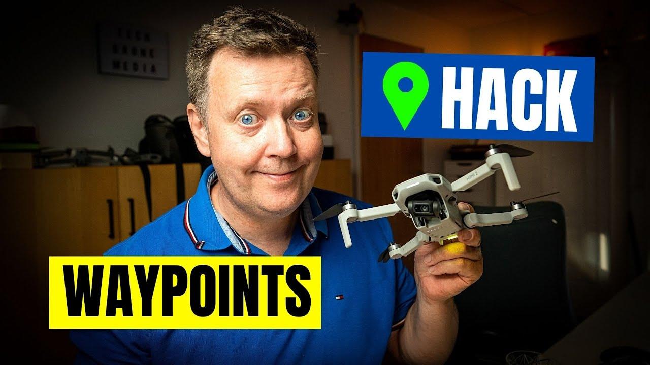 DJI Mini 2 Waypoints HACK