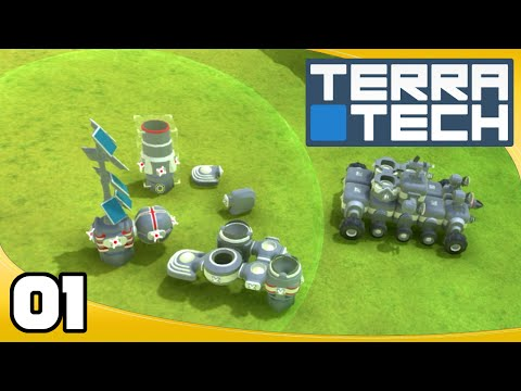 Let's Play TerraTech - Ep. 1: Getting Started! | TerraTech Gameplay