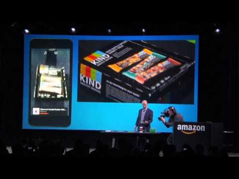 Jeff Bezos unveils Amazon Fire smartphone