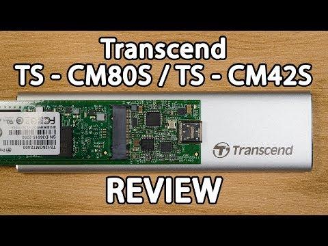 Review - Transcend TS-CM80S/TS-CM42S