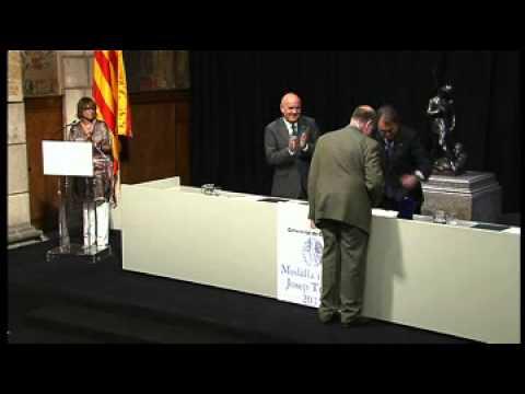 Lliurament de les Medalles i Plaques Josep Trueta al mèrit sanitari