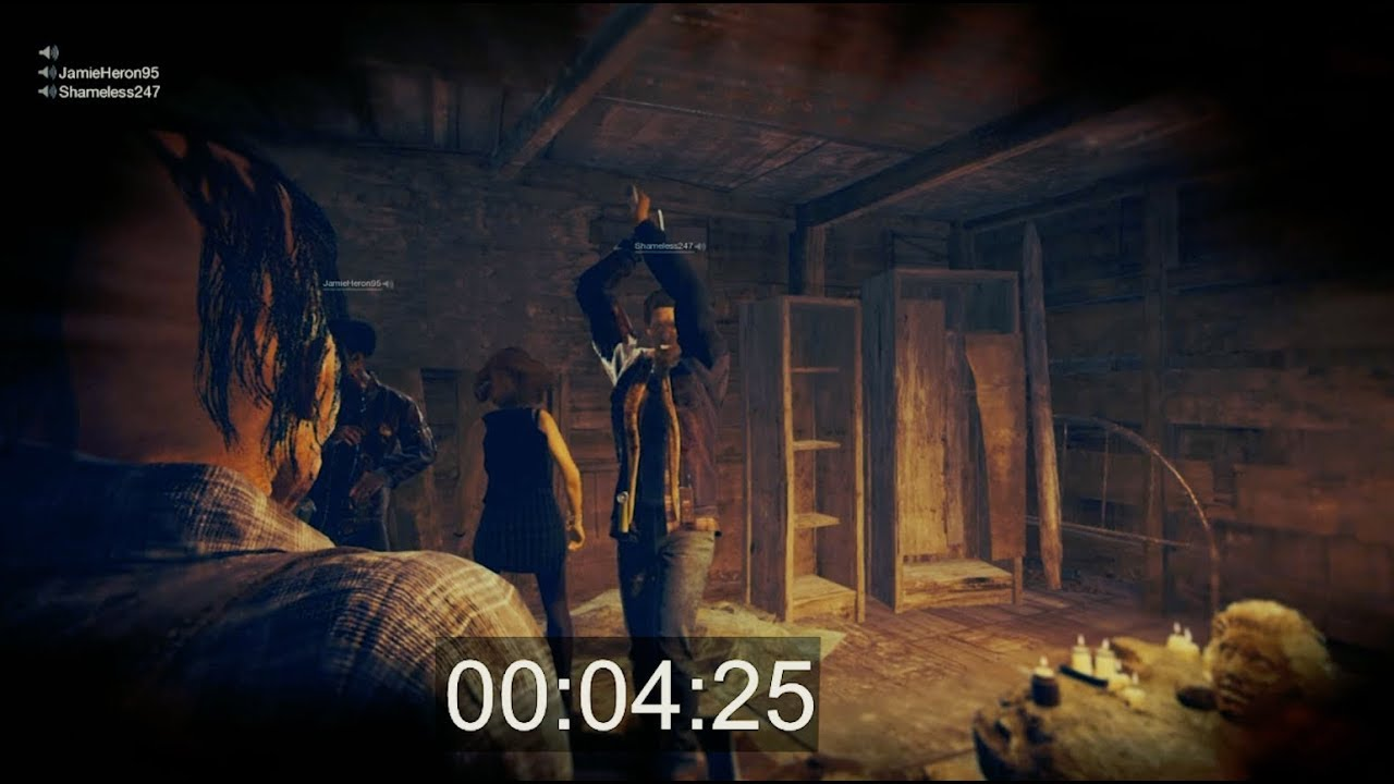 Fastest Jason Kill 4mins 20secs in Friday the 13th: The Game on PS4!