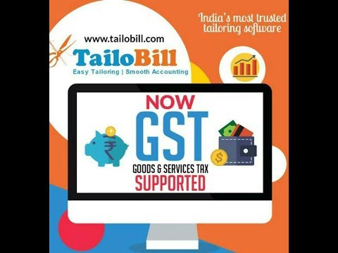 GST Software for Tailoring shops