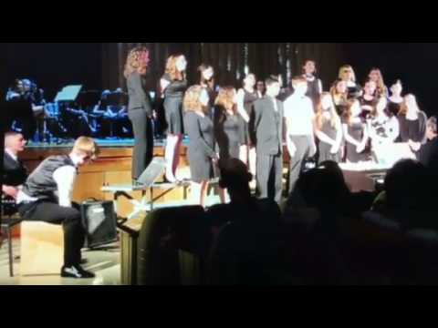 Stissing Mountain high school spring concert 2017 Royals part 2