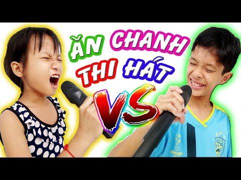Tony   Thách VỪA ĂN CHANH VỪA HÁT - Cười Đau Bụng - Eat Lemon & Sing At The Same Time