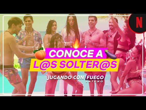 Jugando Con Fuego Latino Conoce A Los Participantes Youtube