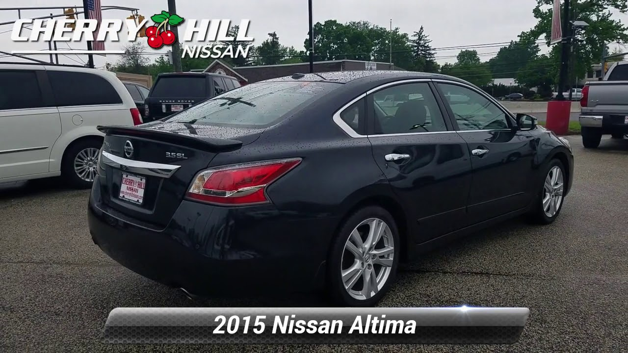 Nissan Altima: Parkingparking on hills