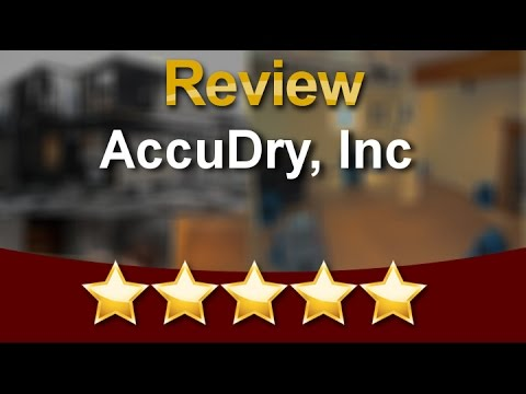 Water Damage Restoration Oxford MI -  AccuDry, Inc 5 Star Review