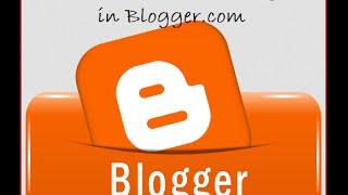 شرح إنشاء مدونة بلوجر من الألف إلى الياء create blogger