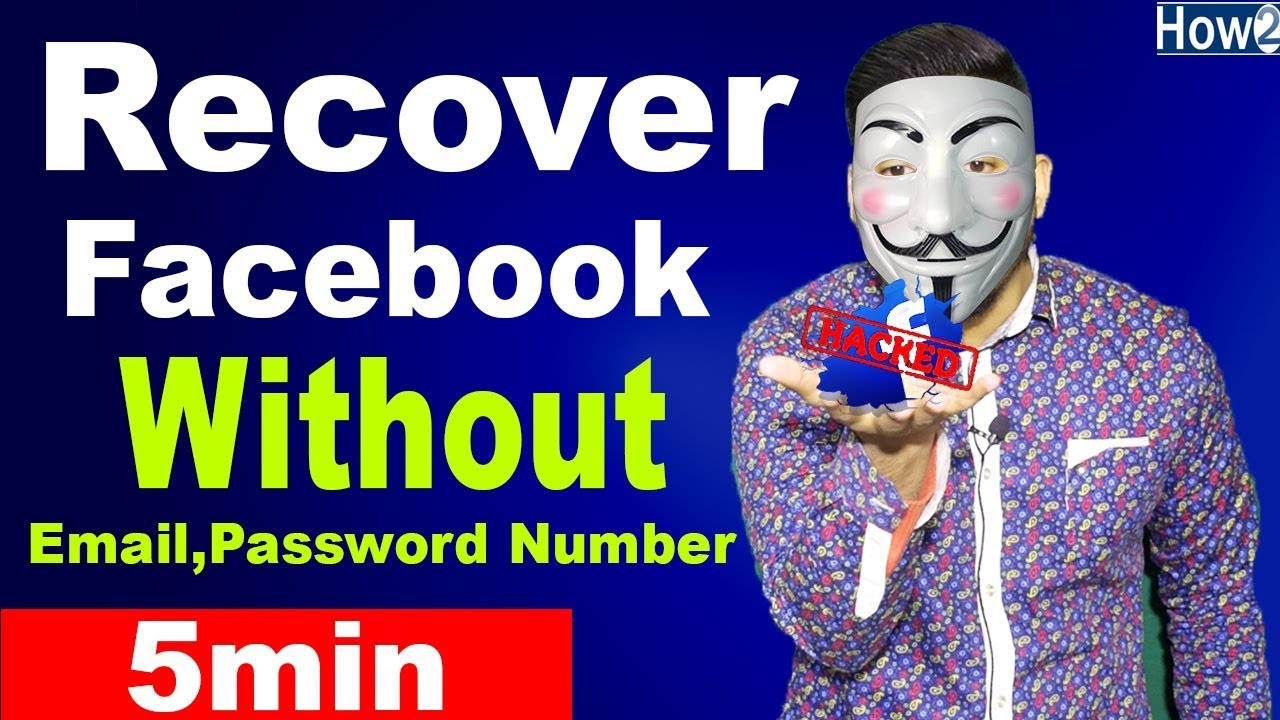 Recover Hacked Facebook Account Without Email And Password Hindi Urdu 2019