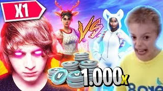 X1 COM REGISTERED VALENDO 1,000 VBUCKS!!! -(Fortnite creative mode)