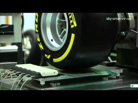Produzione delle gomme Pirelli per la F1 2013