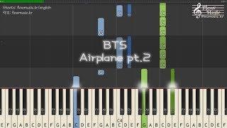 Video BTS (방탄소년단) - Airplane pt.2 Piano Tutorial 피아노 배우기 download MP3, 3GP, MP4, WEBM, AVI, FLV Agustus 2018
