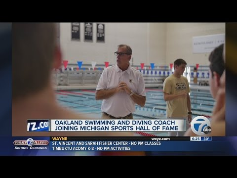 Oakland Swimming and Diving coach Pete Hovland named Michigan Sports Hall of Famer