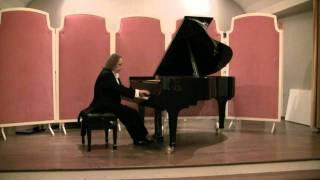 Franz Liszt: Liebestraum Notturno Nr. 3 As-Dur; Gregor Sauer am Flügel