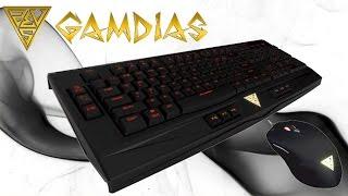 GAMDIAS ARES Combo: Teclado gaming