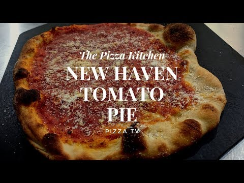 The Pizza Kitchen: New Haven Tomato Pie