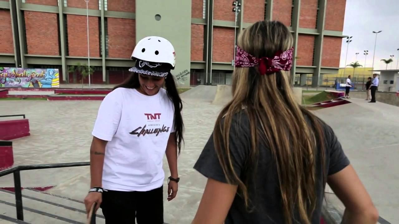 5fcf1b6828 TNT Challenge SKATE - Leticia Bufoni Episode 3 - YouTube
