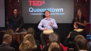 Rhythm - The Pulse of Life: John Boone at TEDxQueenstown