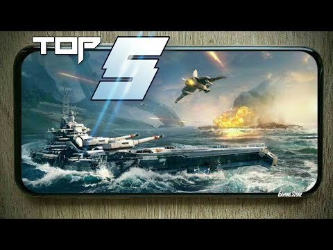 Top 5 Best Battleship Games For Android 2020   High Graphics   Best Warship Games Android & ISO 2020