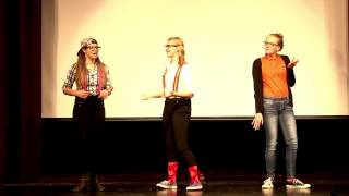 Compass Lip Sync 2015 - White and Nerdy