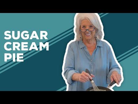 Love & Best Dishes: Sugar Cream Pie Recipe