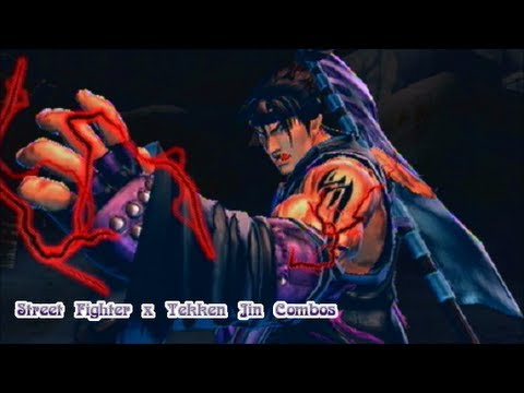 Street Fighter X Tekken 2013 - Jin Combos - YouTube
