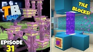 Truly Bedrock Episode 31! End Raiding And TILE BLOCKS! Minecraft Bedrock Survival Let's Play!