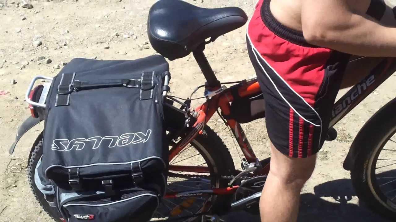 Немного юмора. Бензиновый двигатель на велосипед! - YouTube