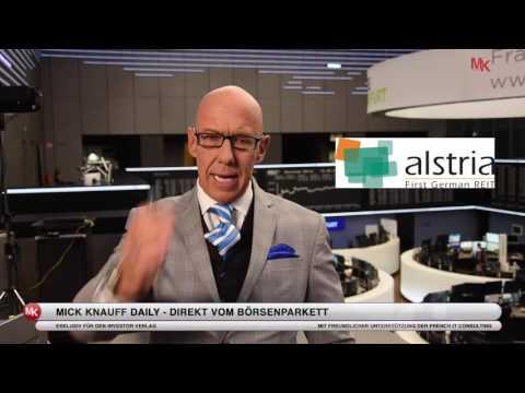 alstria - Machen Sie steueroptimierte Gewinne mit Gewerbe-Immobilien! Mick Knauff Daily - 31.08.2016